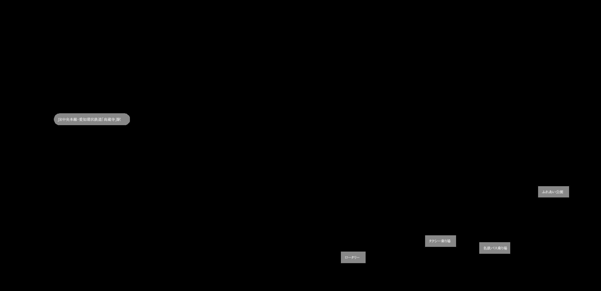 カルティア高蔵寺駅前の図